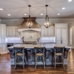 kitchen by Hannah Custom Homes