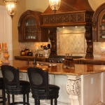 Custom Kitchen and Island
