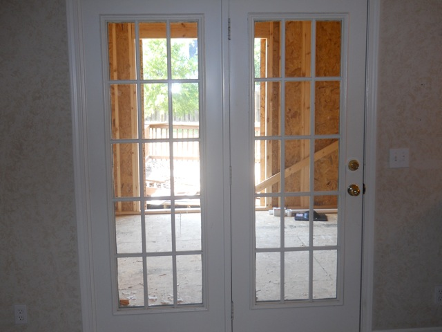 Doorway Before Remodeling