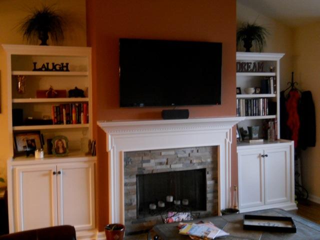 Living Room After Remodeling