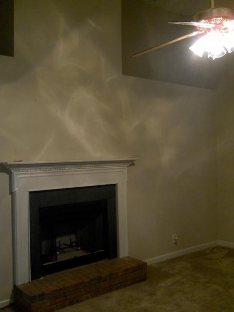 Living Room Before Remodeling