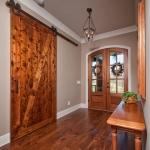 Foyer/Barn Door