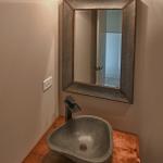 custom powder room