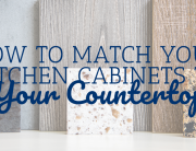 How to Match Your Kitchen Cabinets to Your Countertop