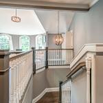 Spacious grande staircase