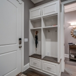 Customized mud room
