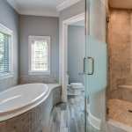 Custom tub and shower