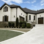 home exterior by Hannah Custom Homes