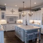 Hannah Custom Homes creates unique custom kitchens