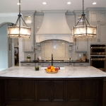 Custom kitchen by Hannah Custom Homes