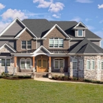Home built by Hannah Custom Homes featured as cover page of Hendersonville Lifetstyle